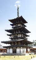 奈良・薬師寺東塔 East Tower of Yakushiji Temple, Nara, Japan